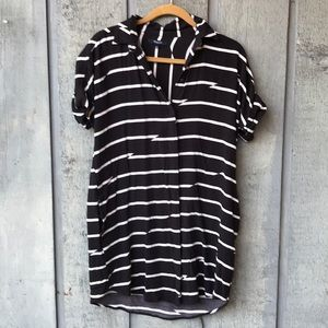 Madewell button down tunic